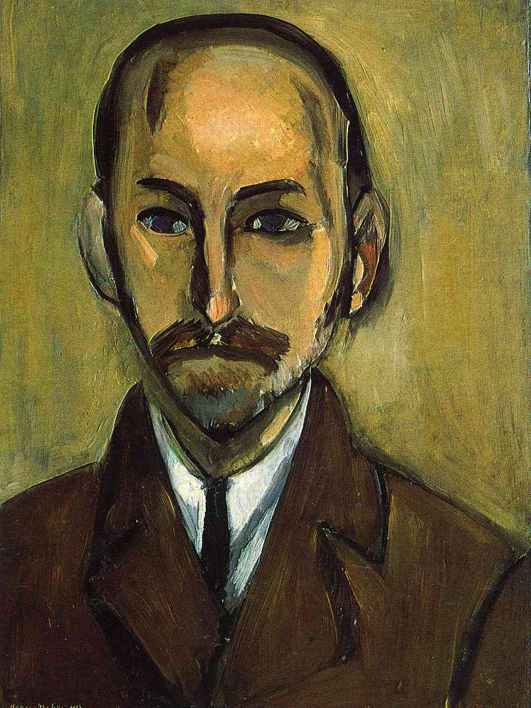 Henri Matisse - Portrait of Michael Stein 1916